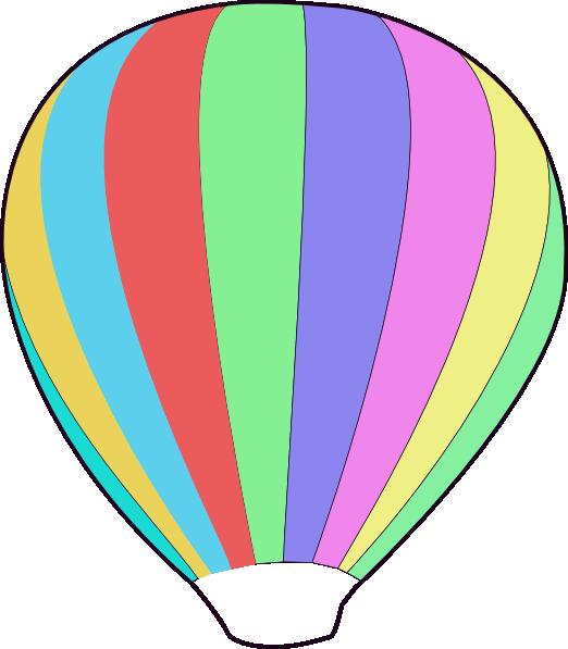 graphic free Hot air balloon drawing. Balloons clipart basket.