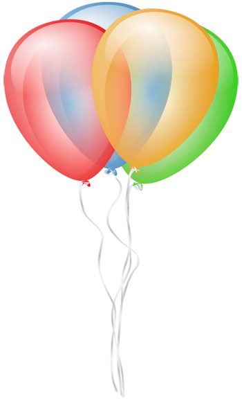 royalty free library Vector balloon animation. Clipart free graphics of
