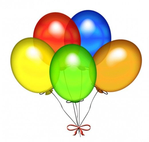jpg transparent download Balloon clipart free. Happy birthday clip art