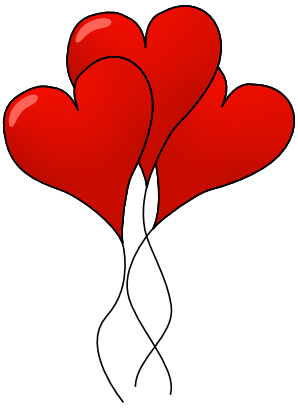 picture royalty free stock Valentine Balloon Clipart