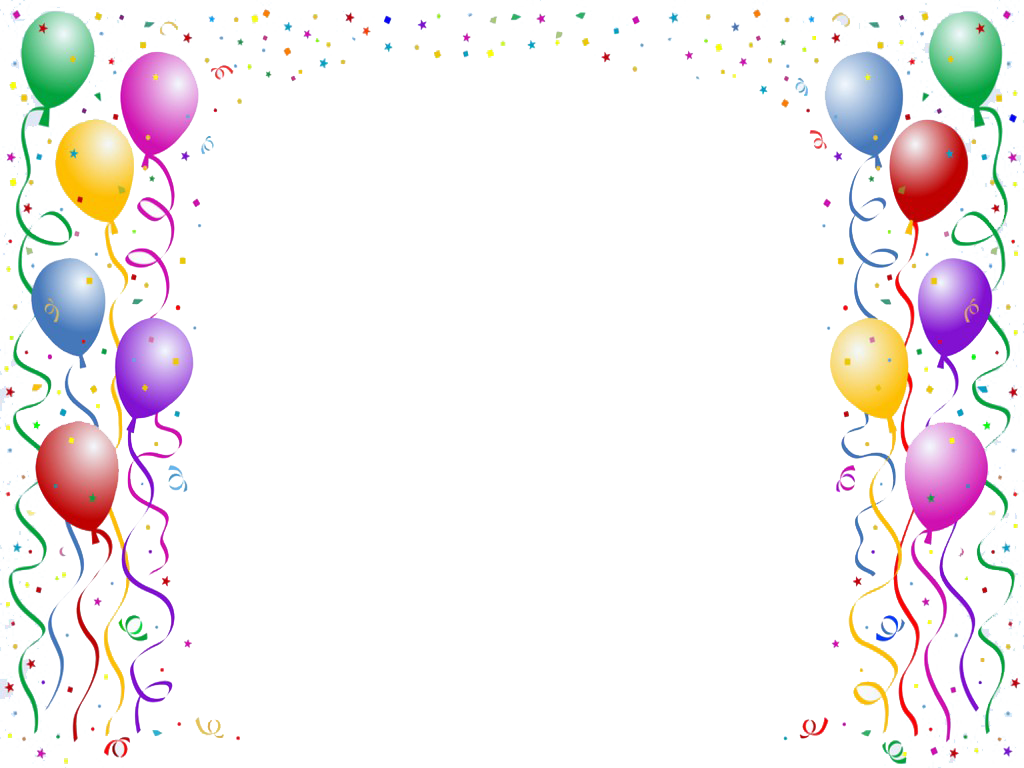 clipart royalty free stock birthday border png