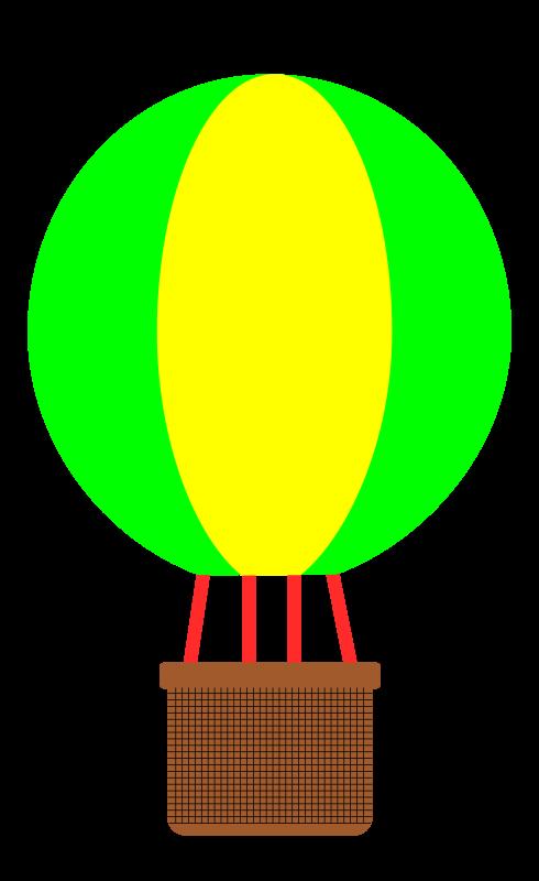 image library Balloons clipart basket. Hot air balloon clip.