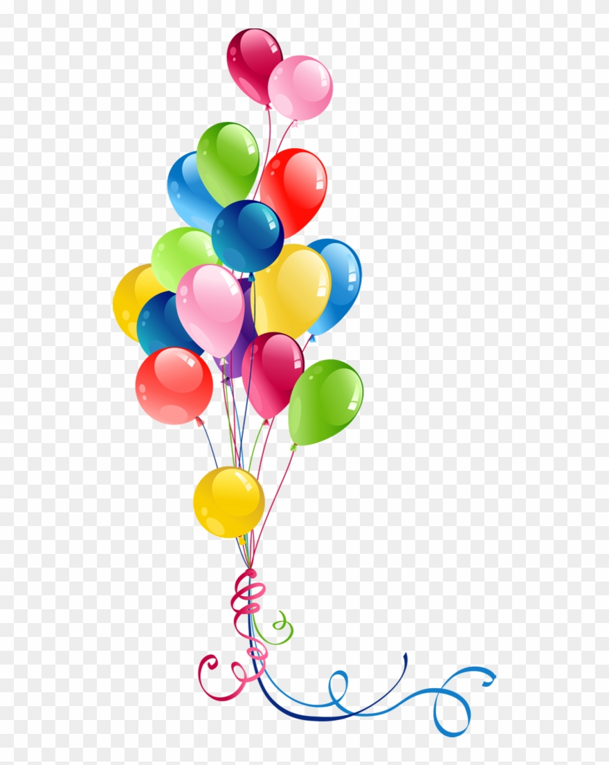 jpg free download Transparent bunch balloon png. Balloons clipart.