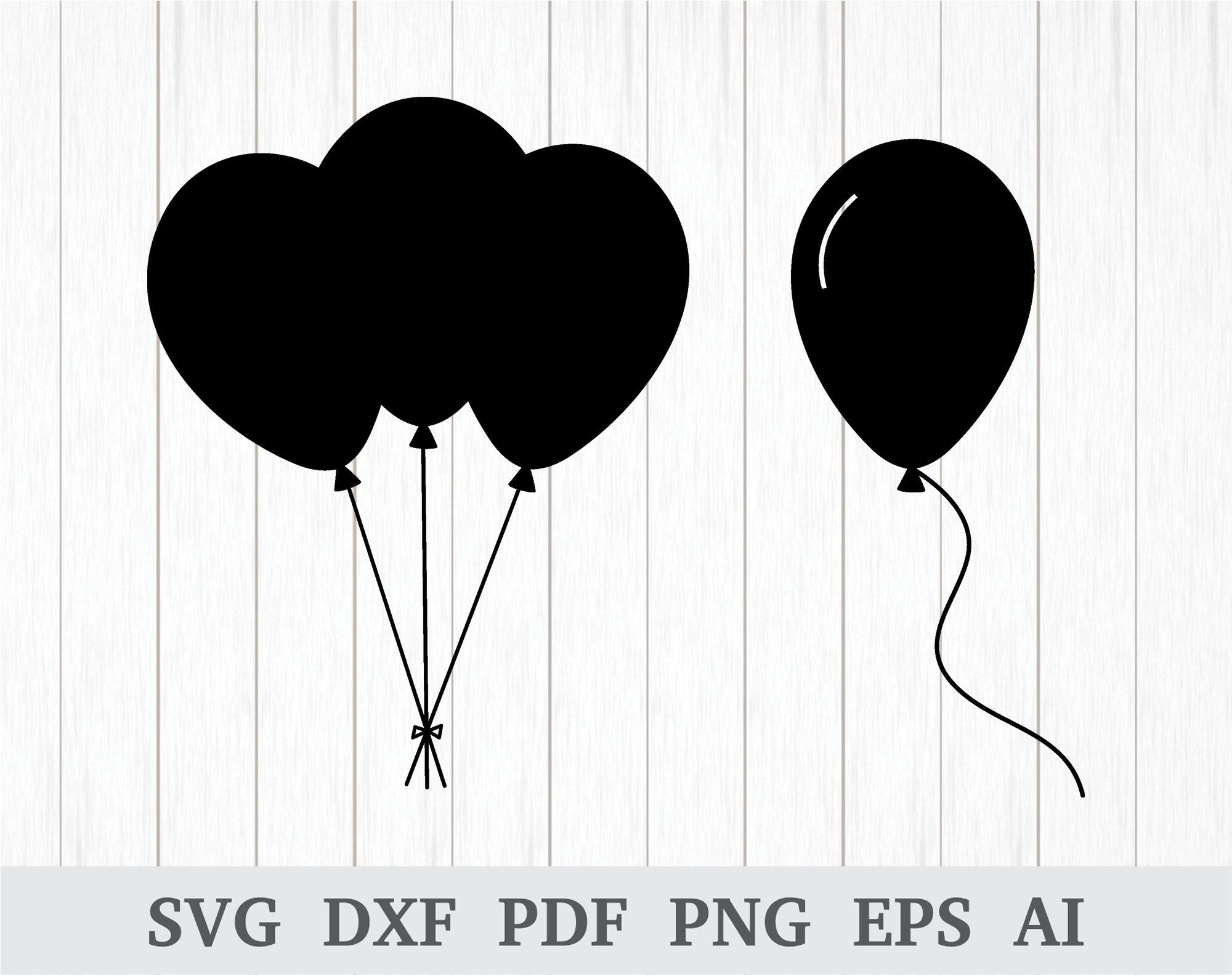 picture download Vector balloon silhouette. Pin on svg