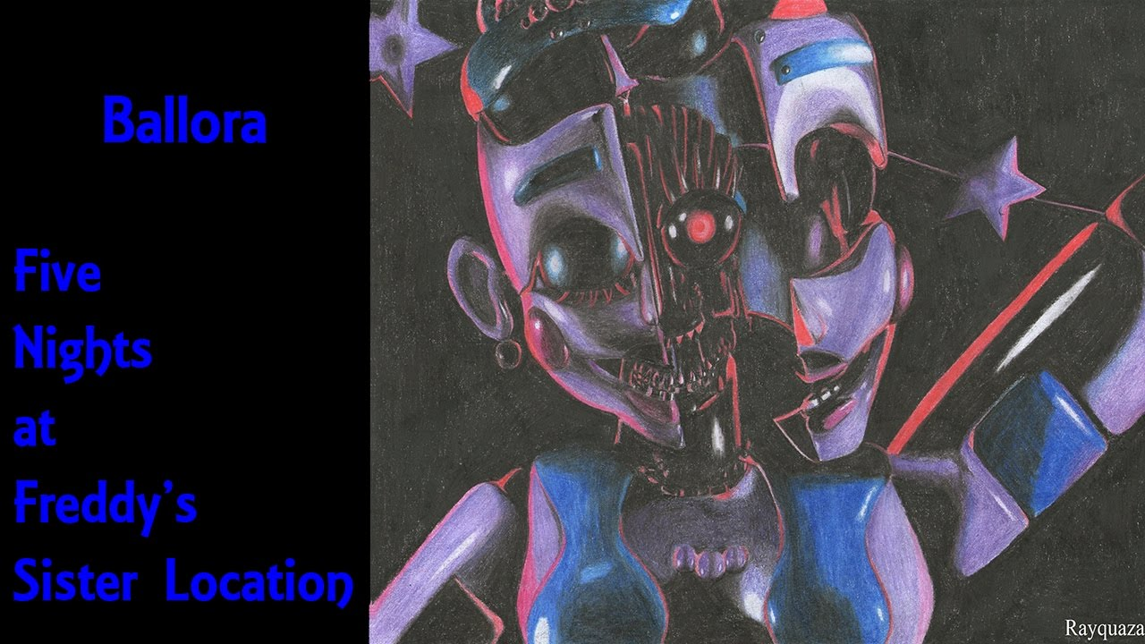 picture free stock Ballora drawing. Speed fnaf sister location