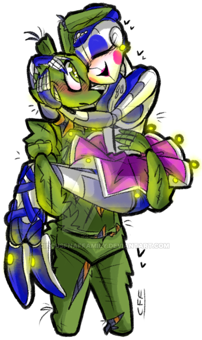 picture freeuse library Springtrap X Ballora by iFuntimeRoxanne on DeviantArt