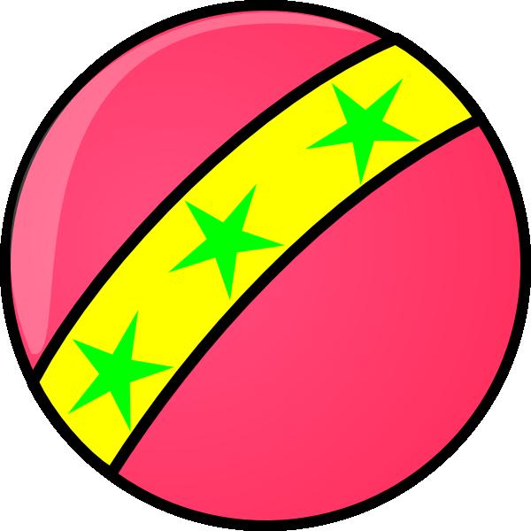 clip stock Pink clip art at. Ball clipart circus.