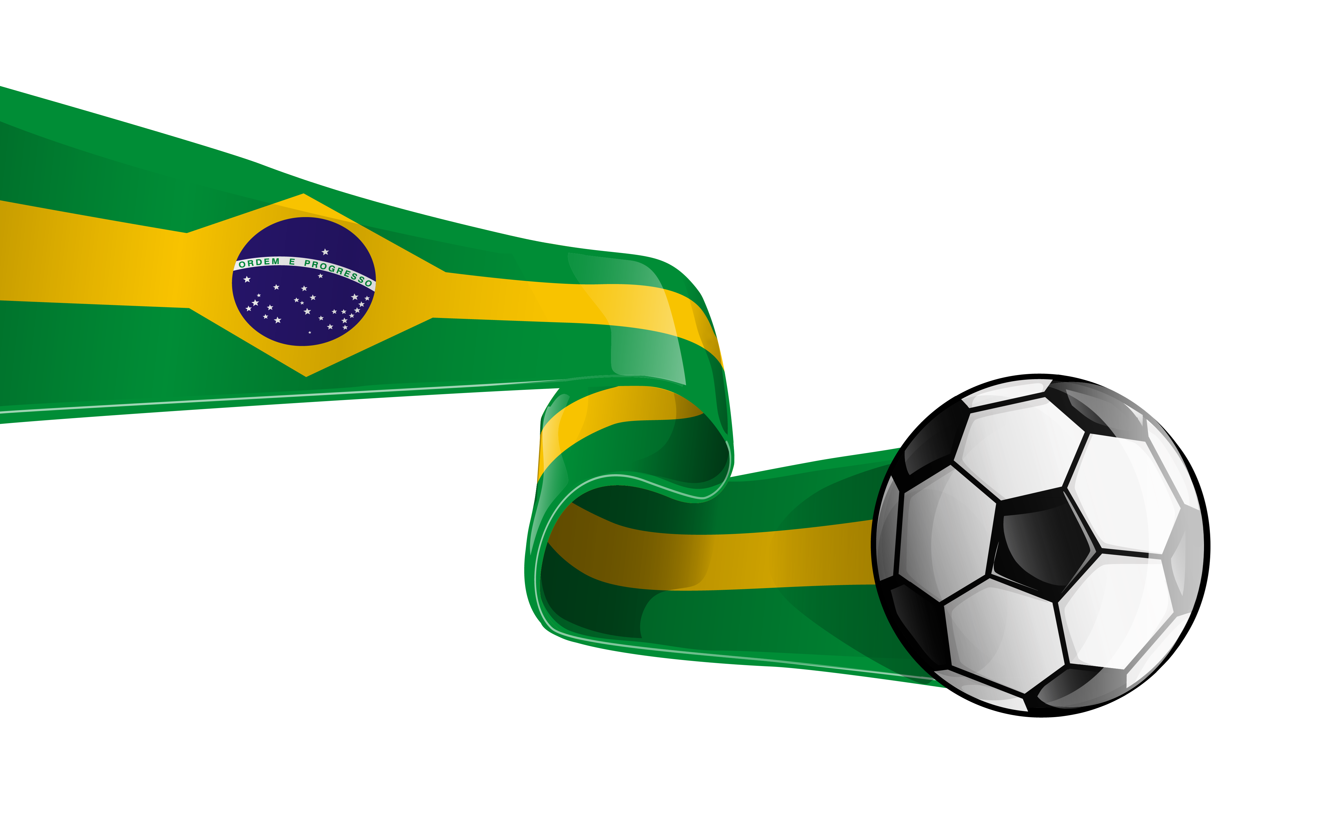 vector free download Soccer clipart flag. Ball with brazilian transparent