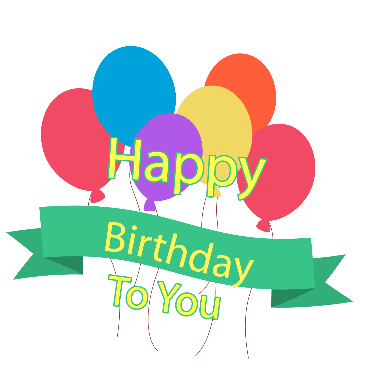 clip art royalty free download Birthday cake Happy Birthday to You