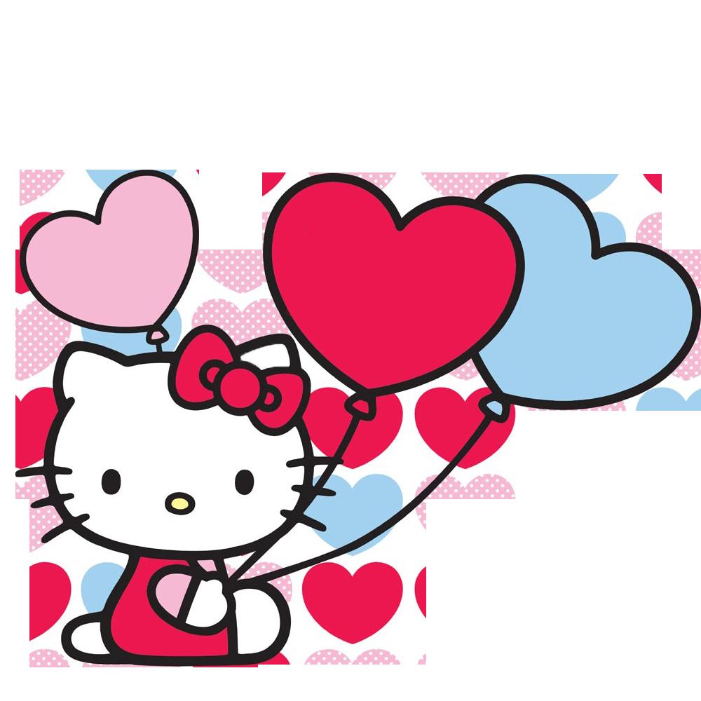 free Hello kitty icons png. Baloon vector gambar