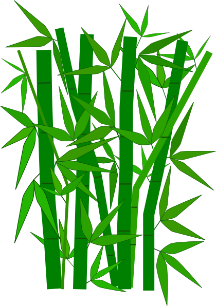 svg free stock Bamboo Leaves