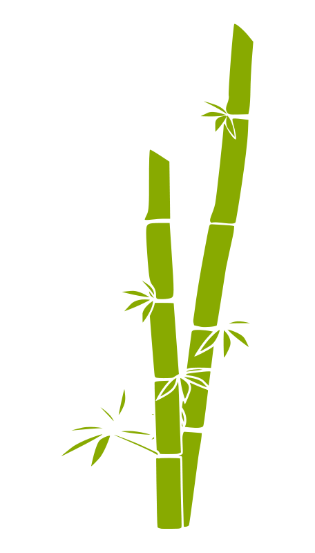 clipart transparent stock free vector Bamboo