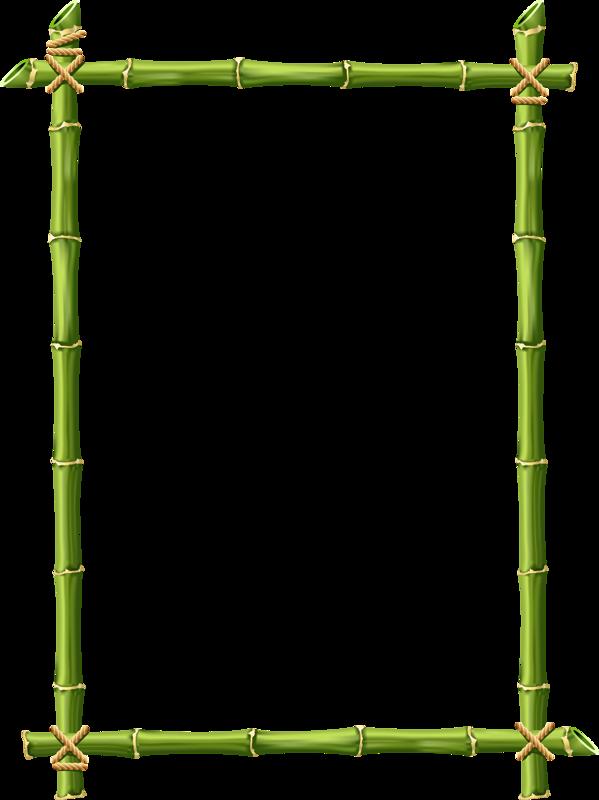 jpg stock Bamboo transparent border.  png templates clip