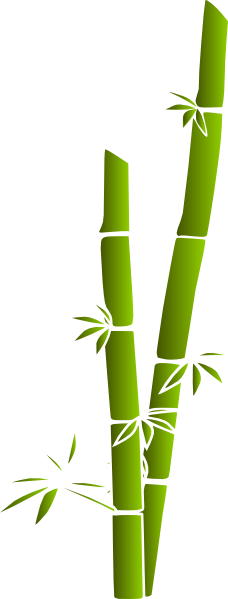 picture stock Bamboo Green Clip Art at Clker