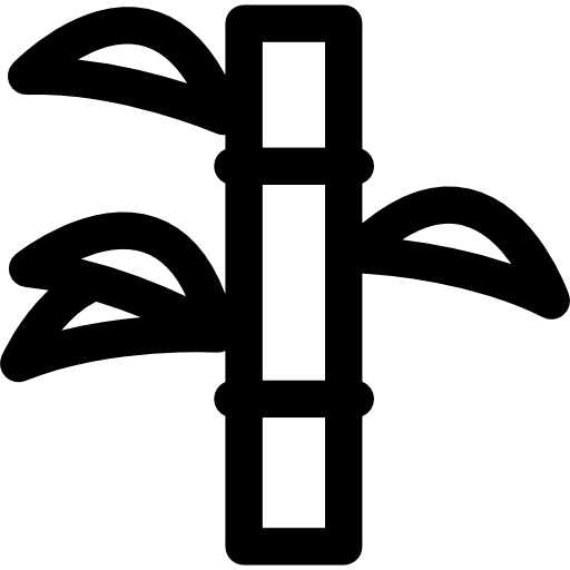 clip black and white Icon png more. Bamboo transparent svg