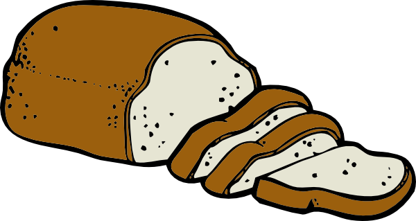 jpg library Bread clipart. Loaf of clip art