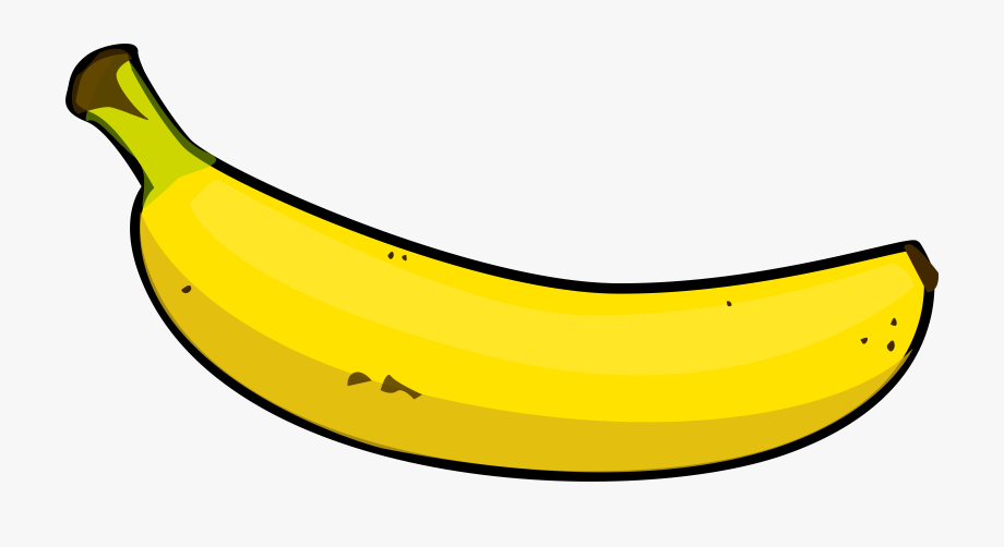 jpg black and white download Banana clipart. Good look at hq