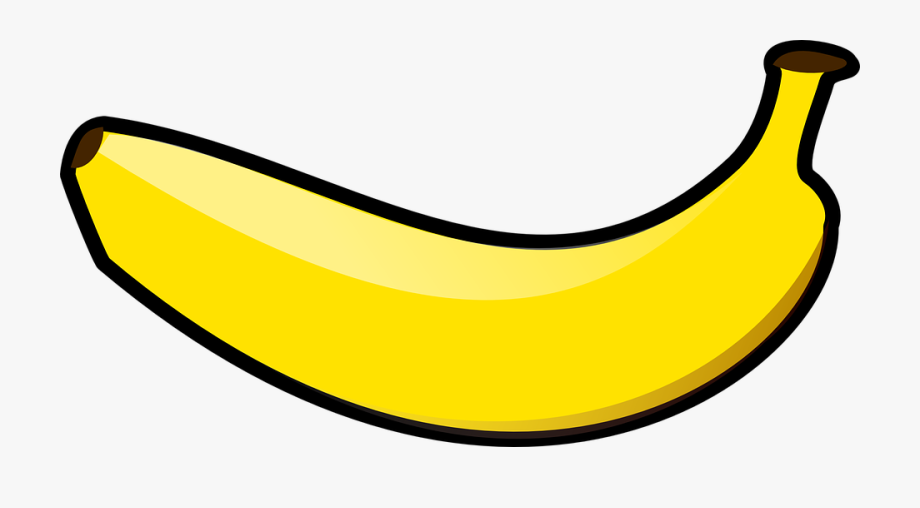 png black and white stock  banana of a. Bananna clip clipart