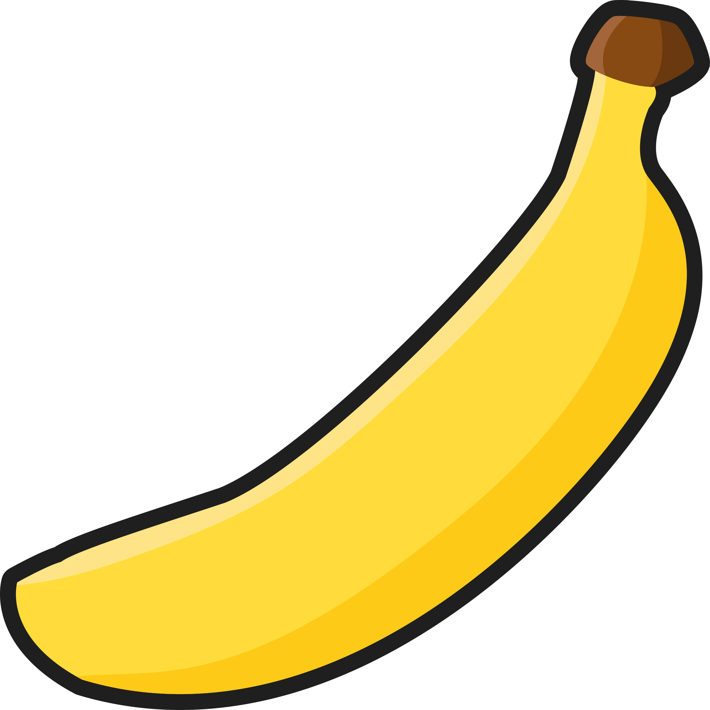 image transparent download Bananna clip. Banana clipart black and