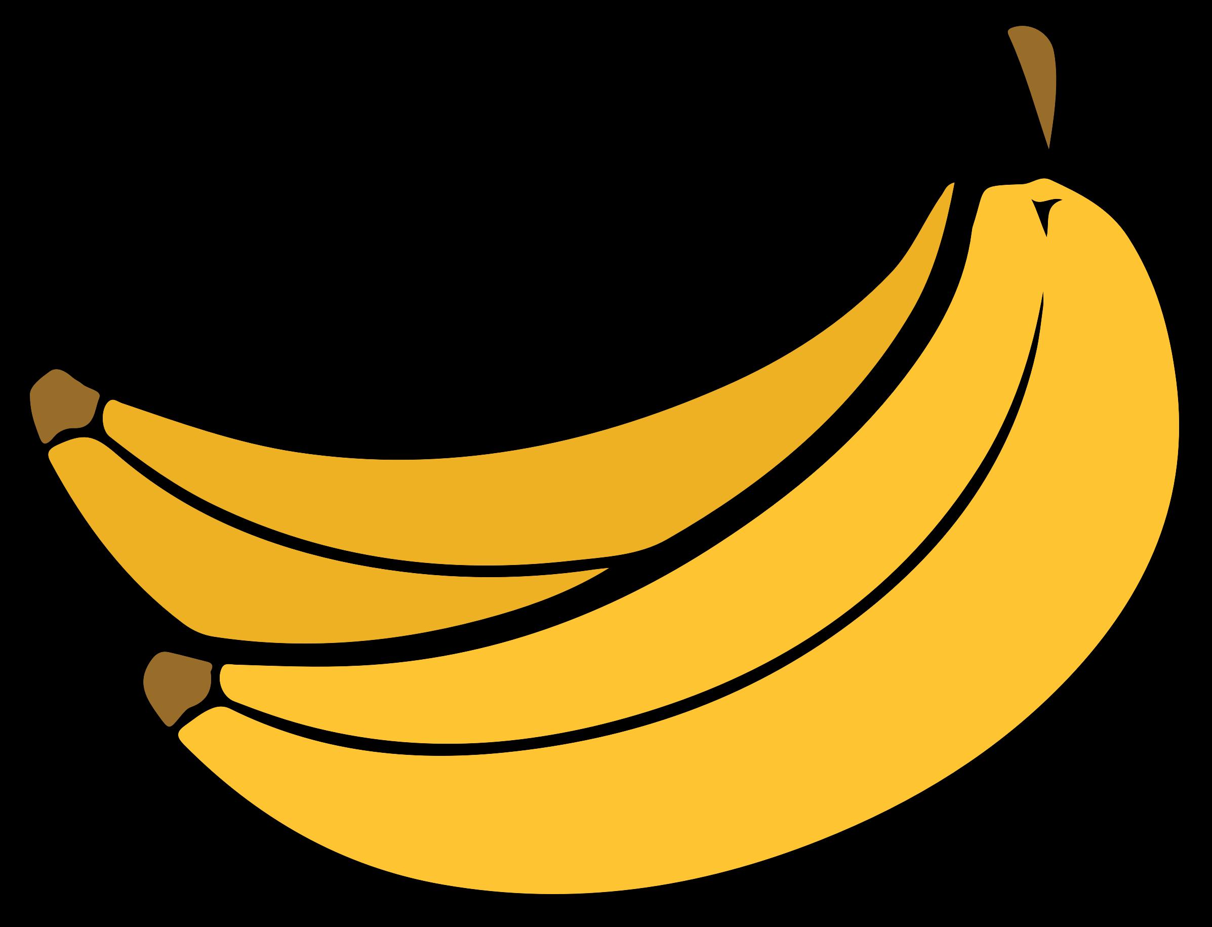 graphic freeuse download Bananna clip. Clipart banana