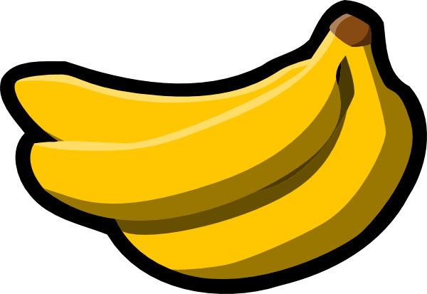 clip art transparent stock Bananas vector gambar. Clip art at clker