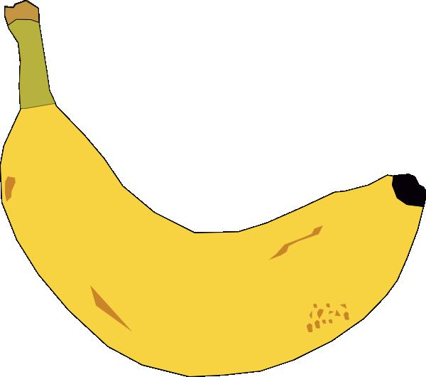 graphic royalty free library Banana Clip Art at Clker