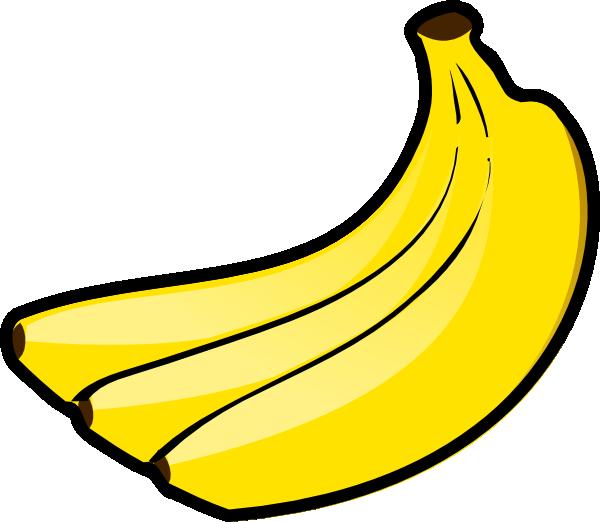 vector freeuse download Banana clipart three frames. Bananas drawing pencil