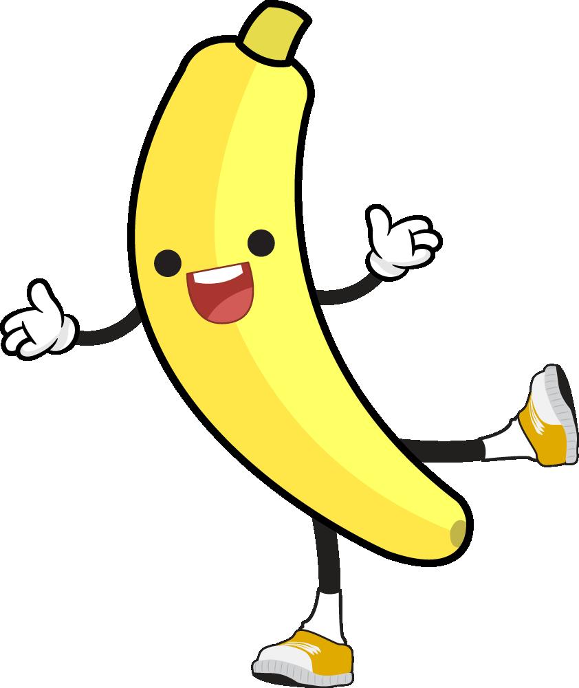banner download Banana png clipart bananaclipart. Bananna clip round