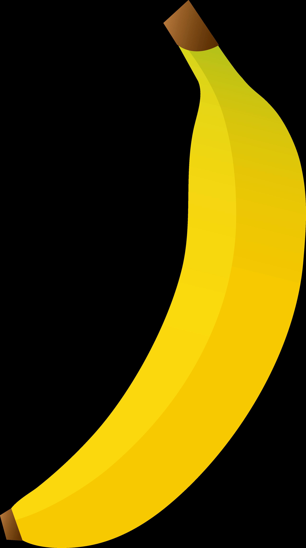 clip black and white stock Free Banana Cliparts Free