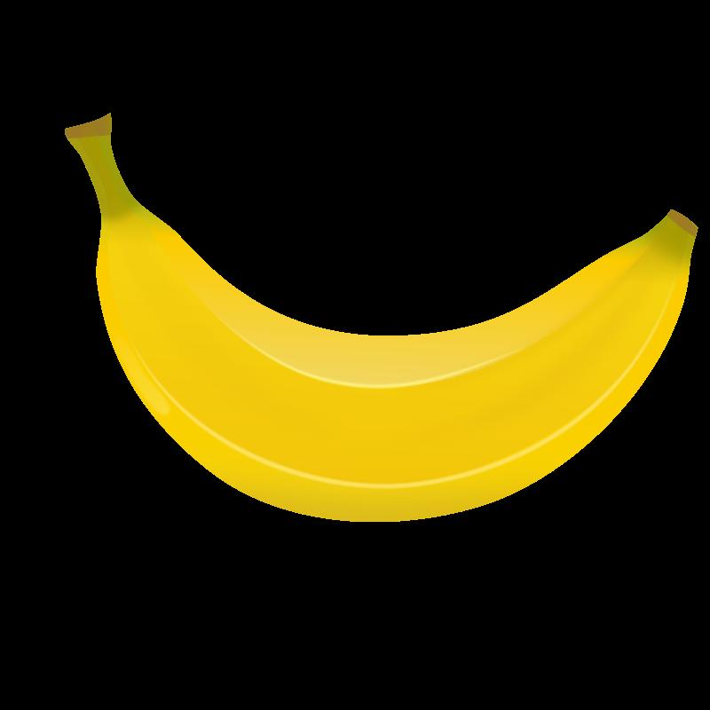 picture free Bananas drawing food. Banana clipart coloring free