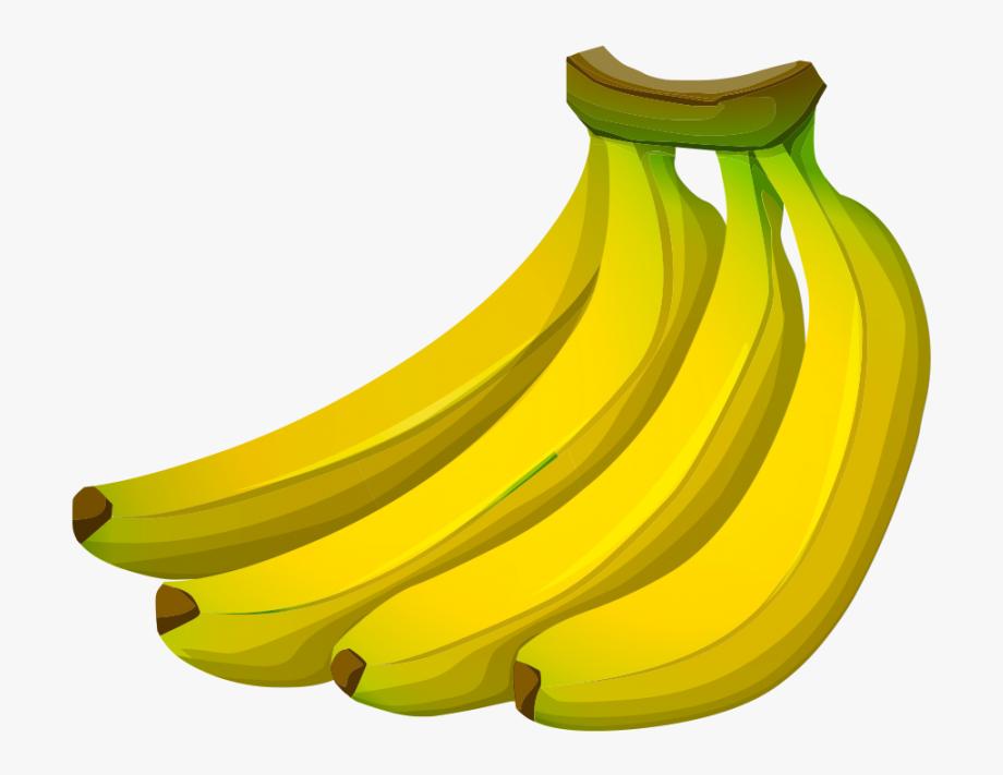 jpg transparent download Bananas vector transparent background. Banana clipart