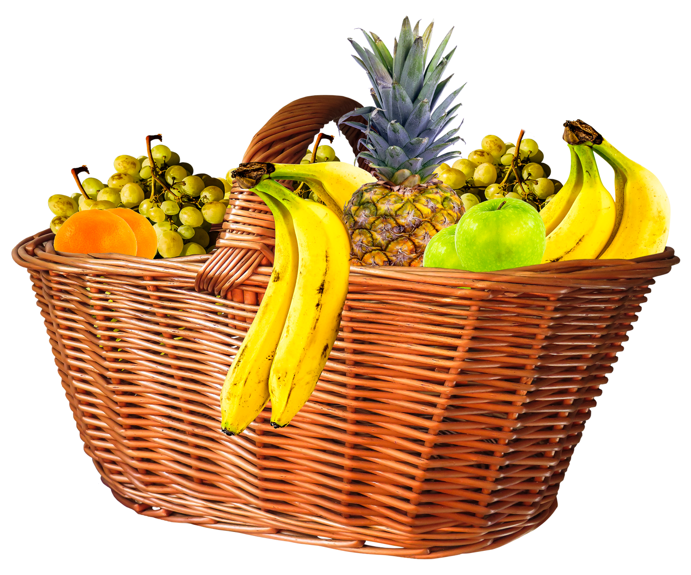 banner free library Bananas clipart basket. Fruit png image purepng