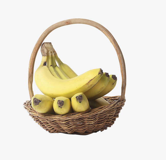 jpg freeuse library Bananas clipart basket. Transparent free for