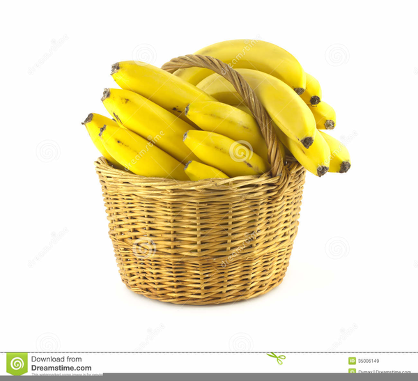 graphic transparent library Free wicker images at. Bananas clipart basket