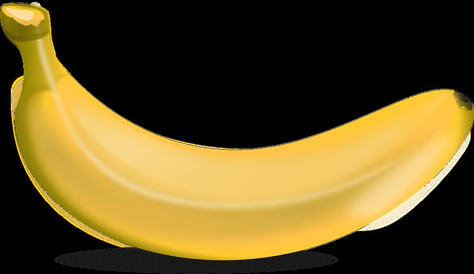 vector transparent download Clipart banana buah buahan