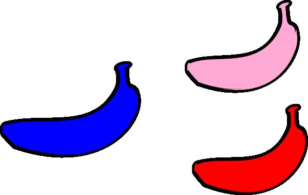 freeuse download Blue Banana Clip Art at Clker