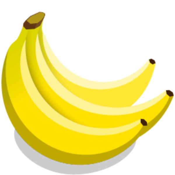 clip library download Icon free images at. Bananas vector svg