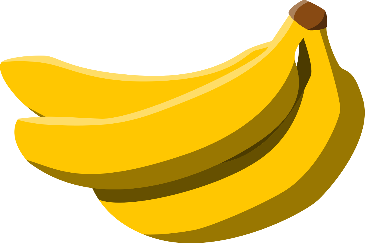 picture black and white stock File bananas svg wikimedia. Bananna clip 80's