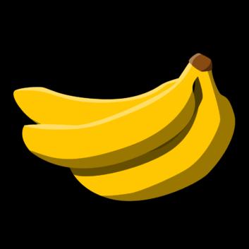 clip art transparent library Banana clipart printable