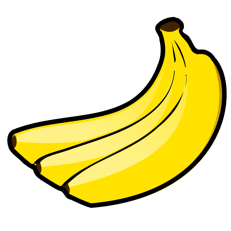 graphic freeuse download  banana clipart bitmap. Bananas drawing toon