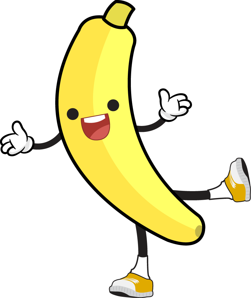 jpg transparent download Pages clipart at getdrawings. Bananas drawing adorable