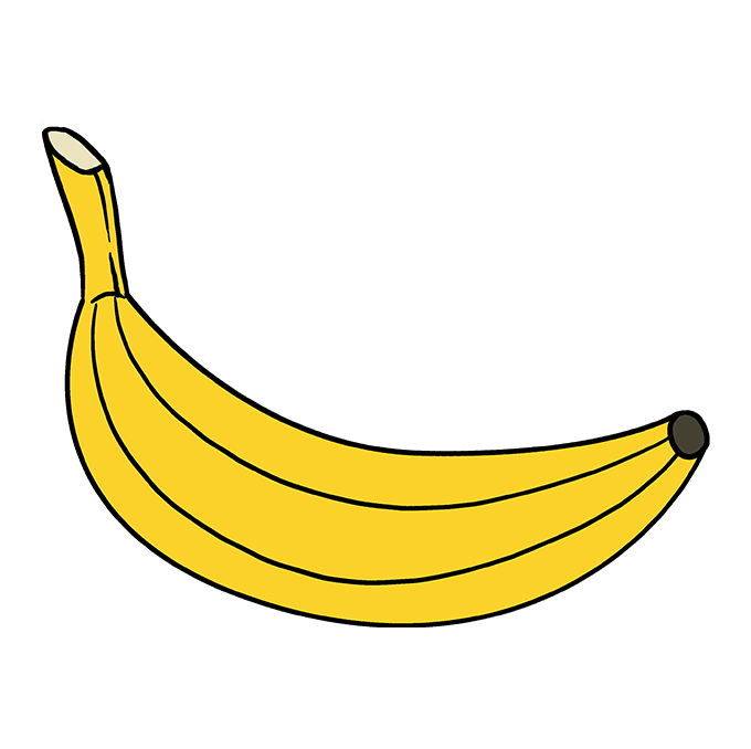 royalty free download How to draw a. Bananas drawing food