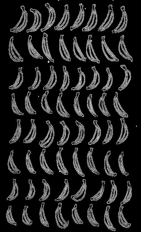 jpg transparent Banana illustration and draw. Bananas drawing pattern