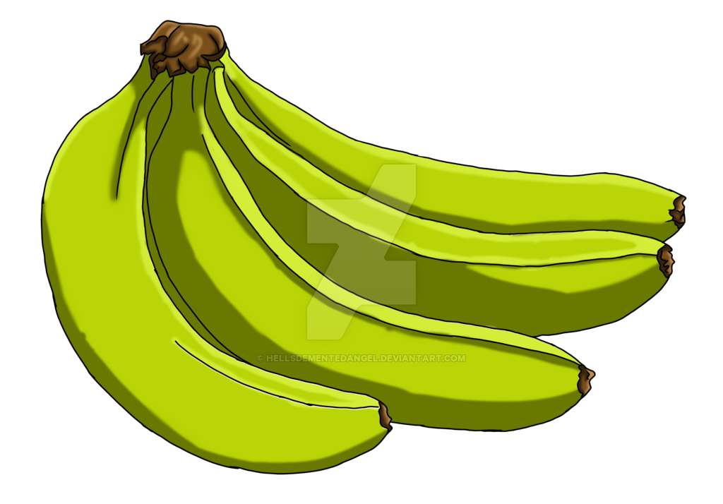 clip freeuse stock Bananas drawing realistic. Banana by hellsdementedangel on
