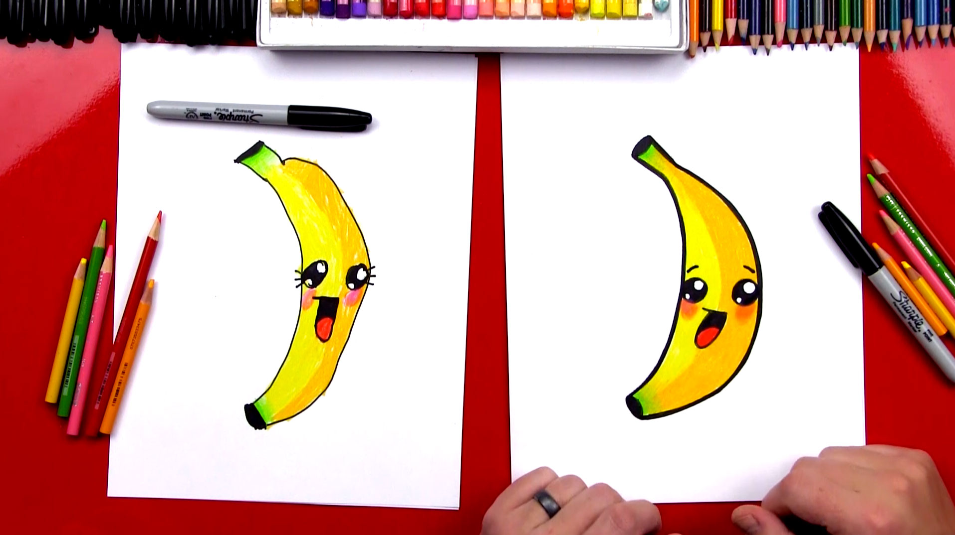 banner black and white download Banana cartoon at paintingvalley. Bananas drawing toon