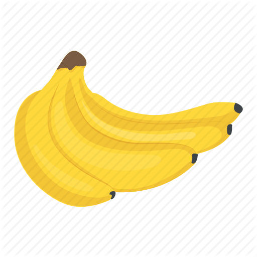 clip transparent library Bananas vector. Food and drinks by