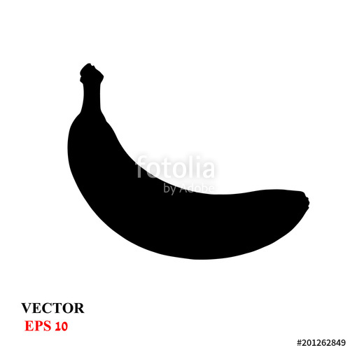 picture free stock Bananas vector black and white. Simple drawing of a