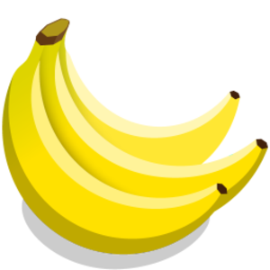clip art transparent download Bananas vector icon. Free images at clker