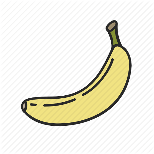 banner free library Iconfinder vegetables and fruits. Bananas vector illustrator