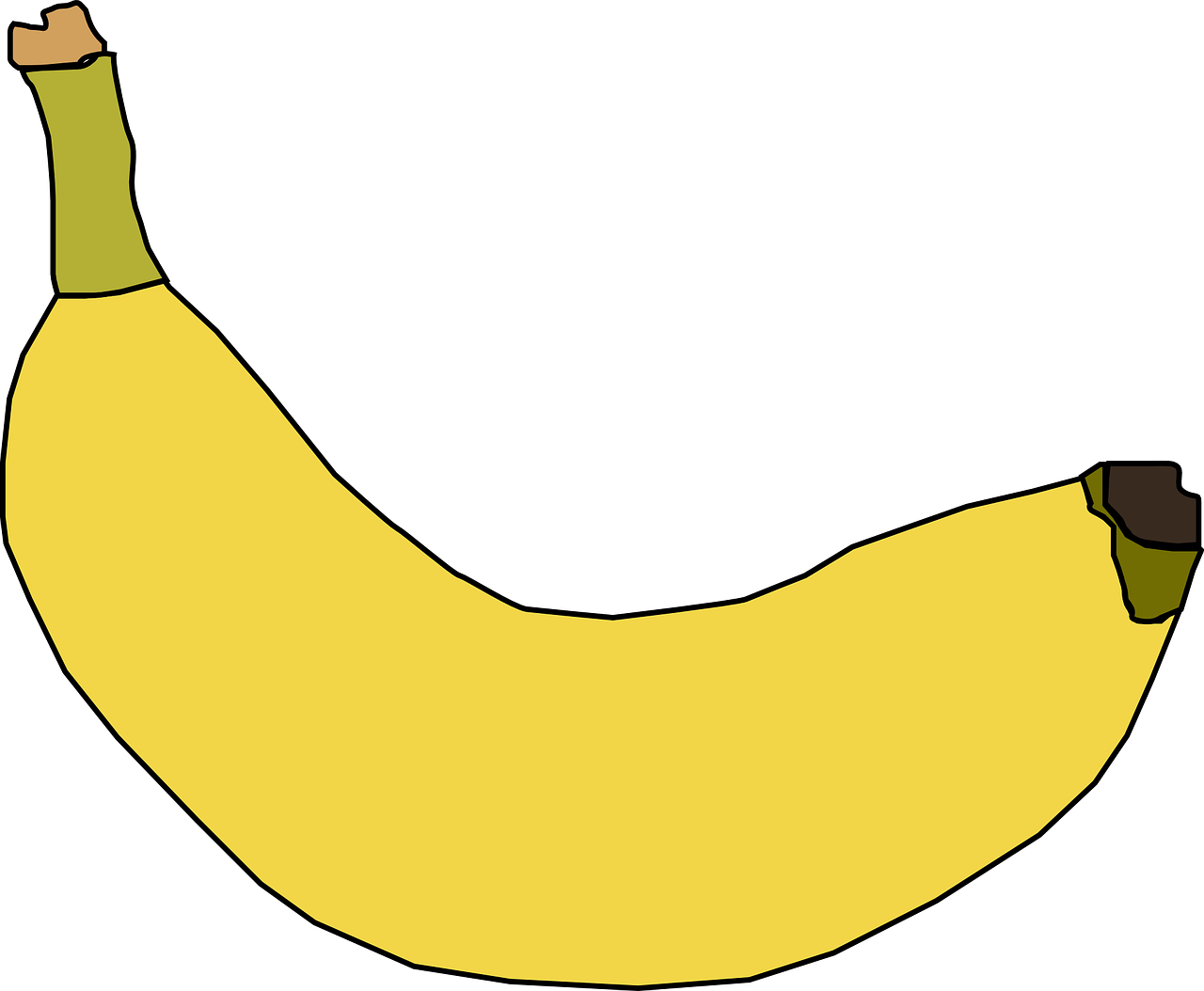 graphic library download Banana yellow fruit sweet. Bananas vector ripe